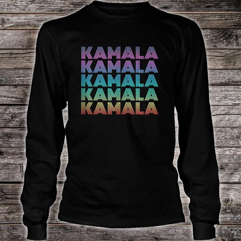 KAMALA HARRIS 2020 retro vintage 70s Shirt long sleeved