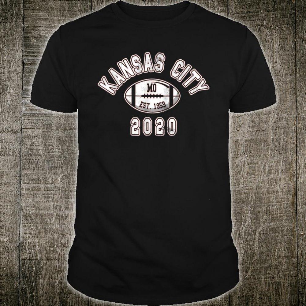 Kansas City Football Vintage KC Retro Chief 2020 Gameday Fan Shirt