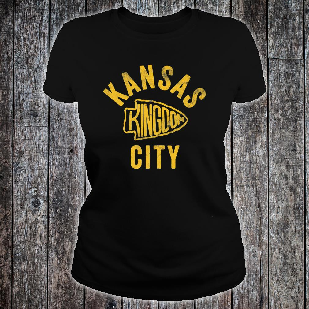 Kansas City Kingdom Football 2020 Shirt ladies tee