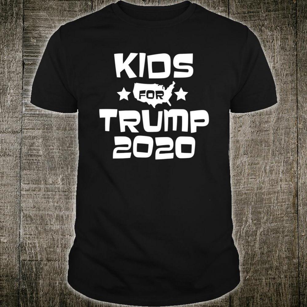 Kids Kids For Trump Election 2020 Shirt