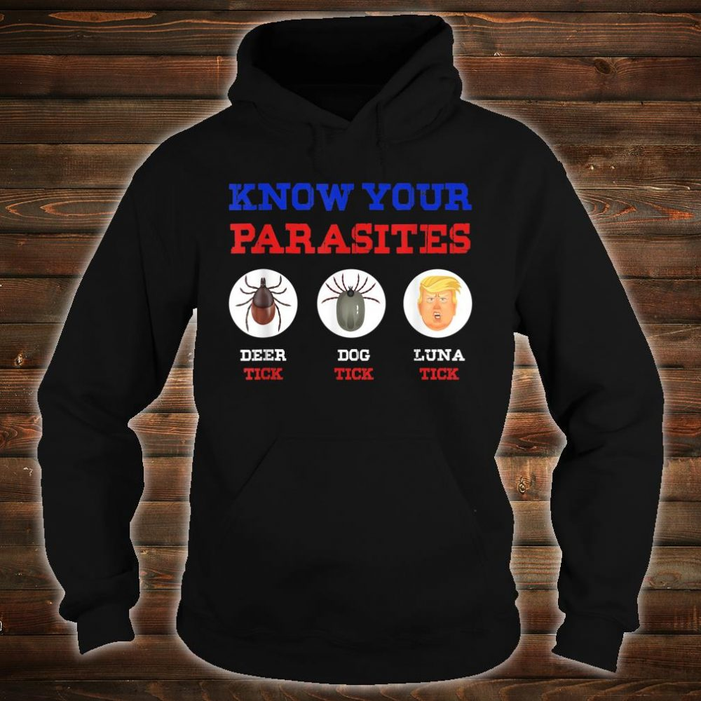 Know Your Parasites Anti Trump 86 45 Shirt hoodie