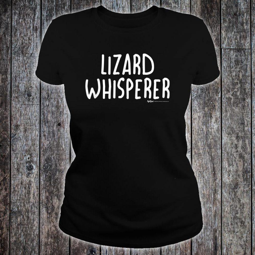 Lizard Whisperer Shirt ladies tee