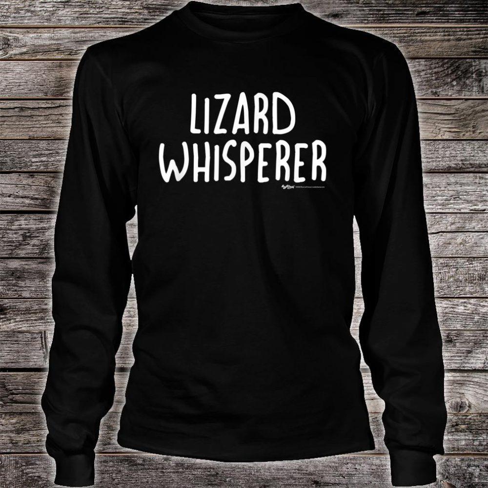 Lizard Whisperer Shirt long sleeved