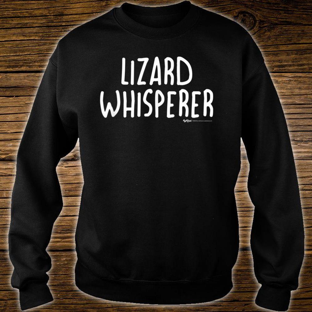 Lizard Whisperer Shirt sweater