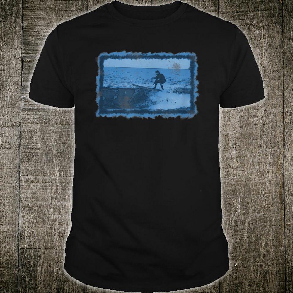 Longboard Surf-Fin Art Shirt