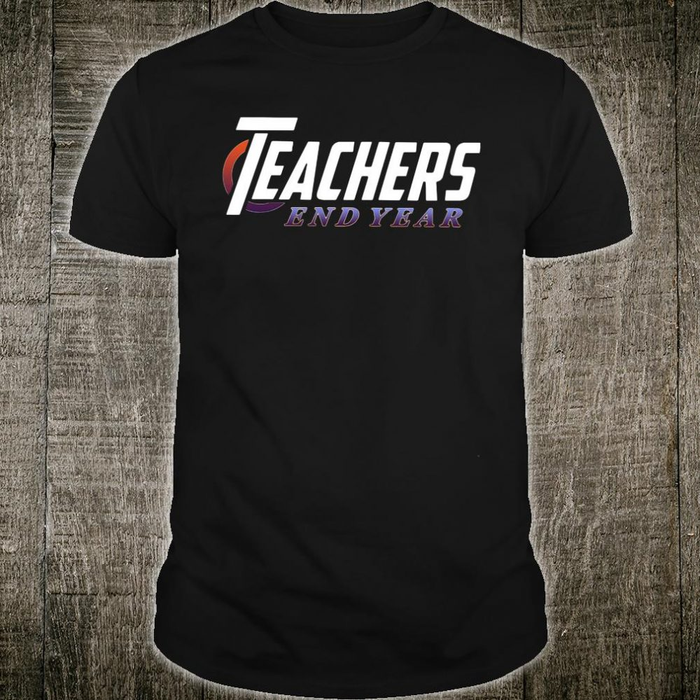 Marvel-Avengers Teachers End year Shirt