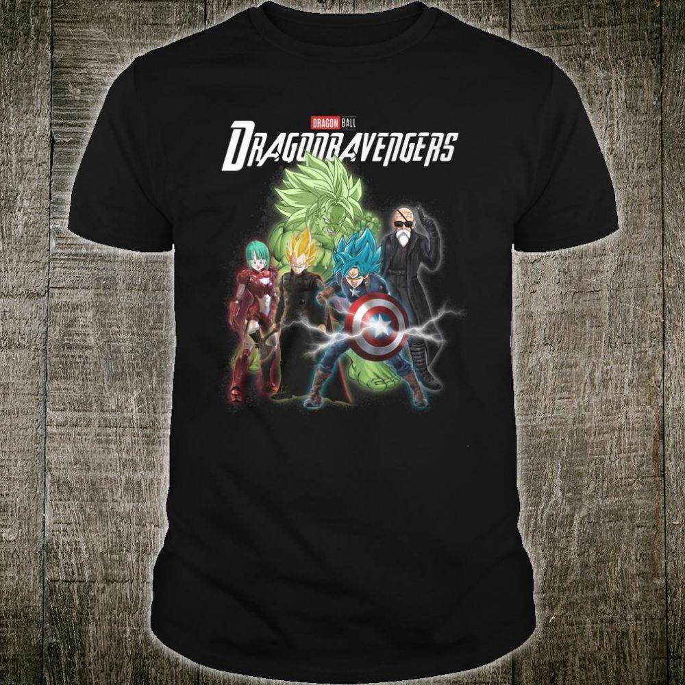 Marvel Dragon avengers shirt