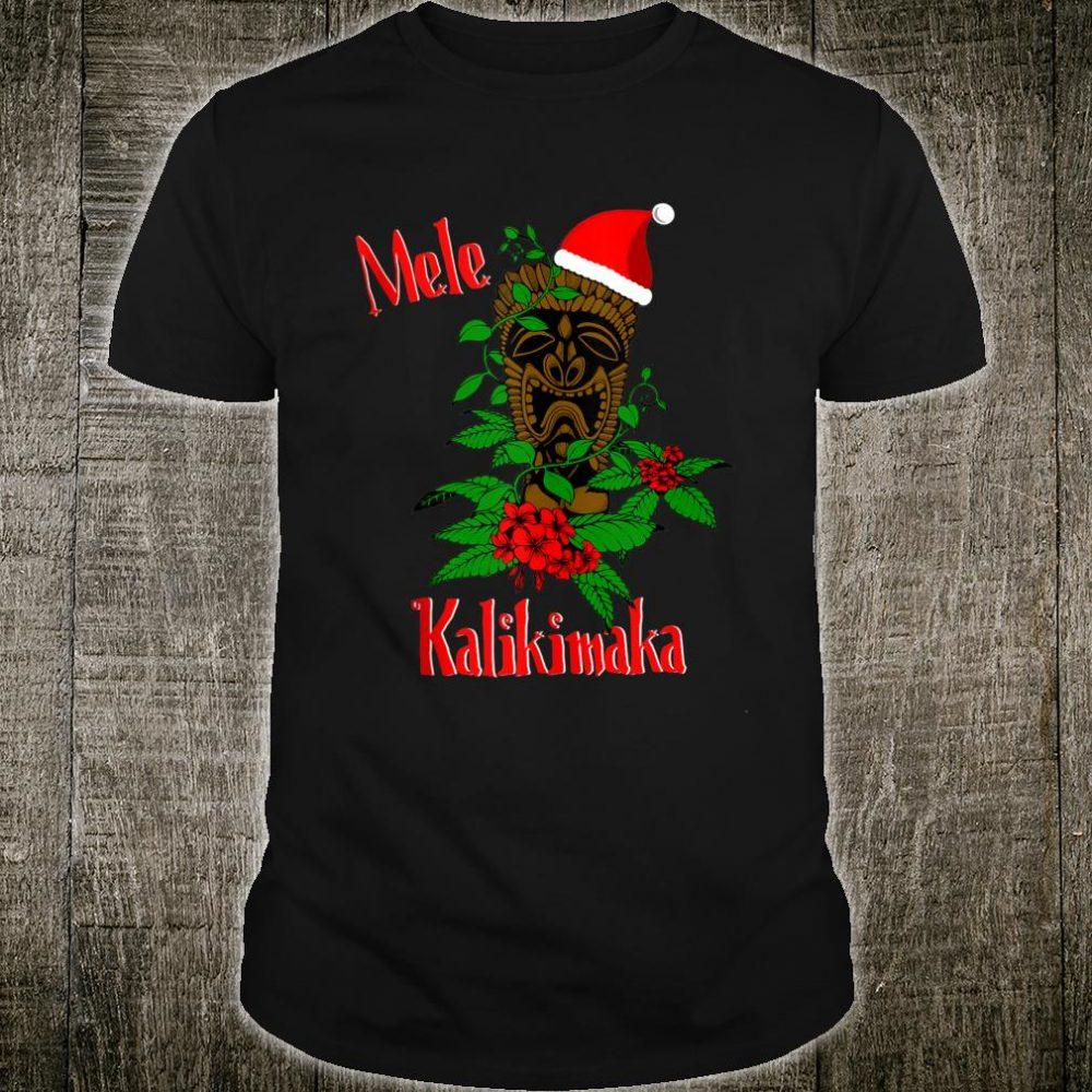 Mele Kalikimaka Hawaiian Ohana Celebration Christmas Shirt