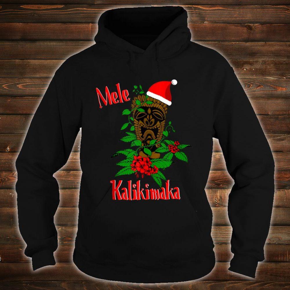 Mele Kalikimaka Hawaiian Ohana Celebration Christmas Shirt hoodie