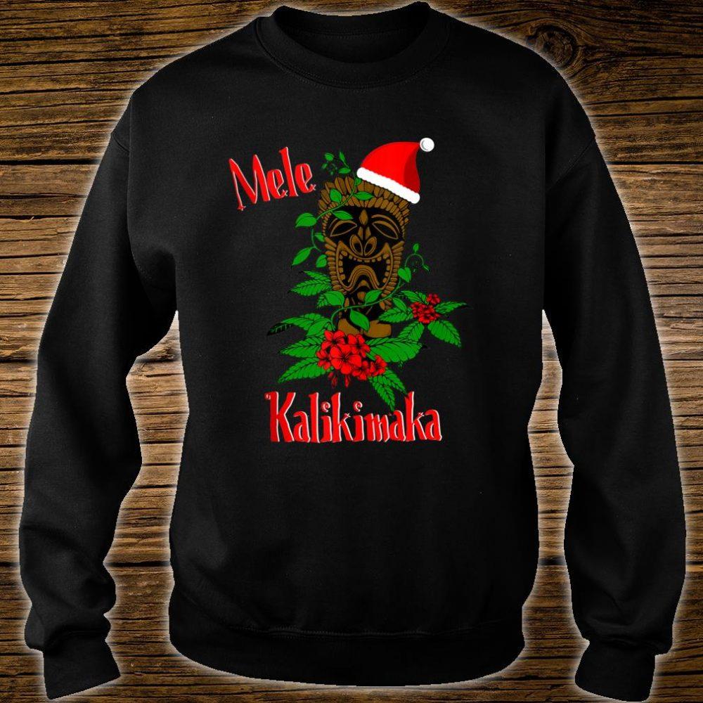 Mele Kalikimaka Hawaiian Ohana Celebration Christmas Shirt sweater