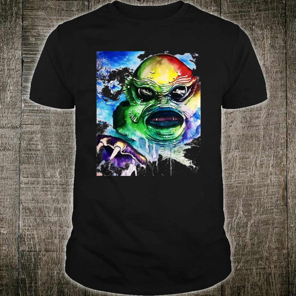 Mens Artsy Tessy Creature Shirt
