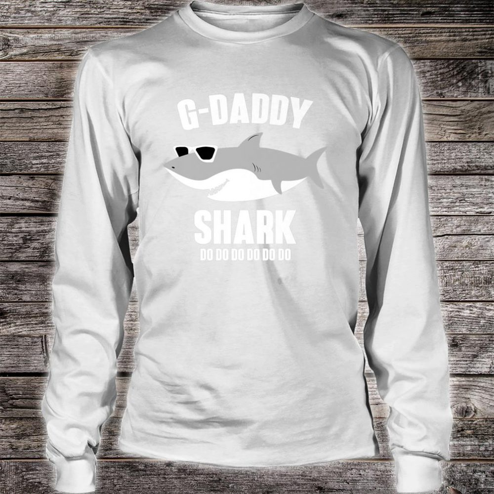 Mens G-Daddy Shark Doo Doo Shirt long sleeved