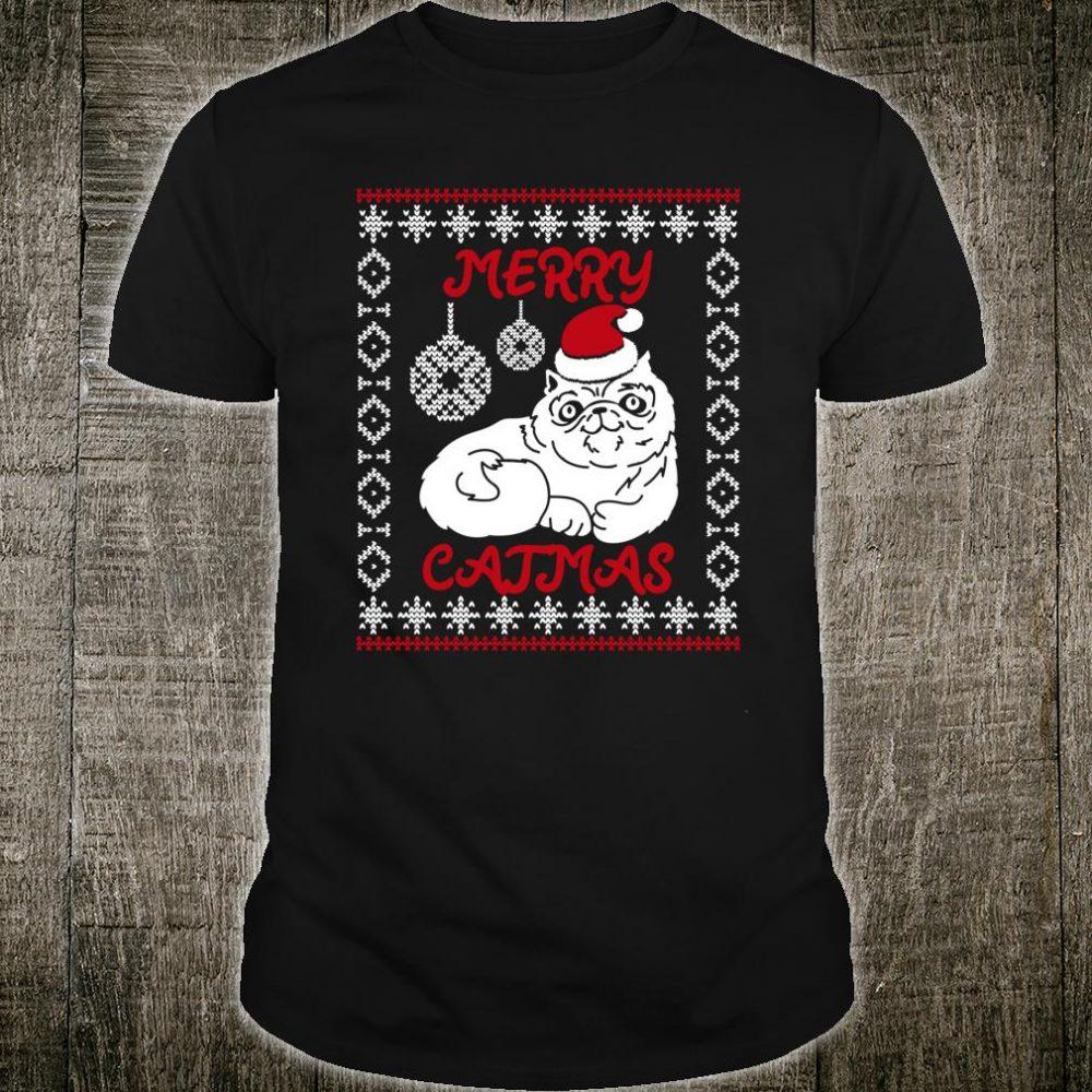 Merry Catmas Christmas Shirt