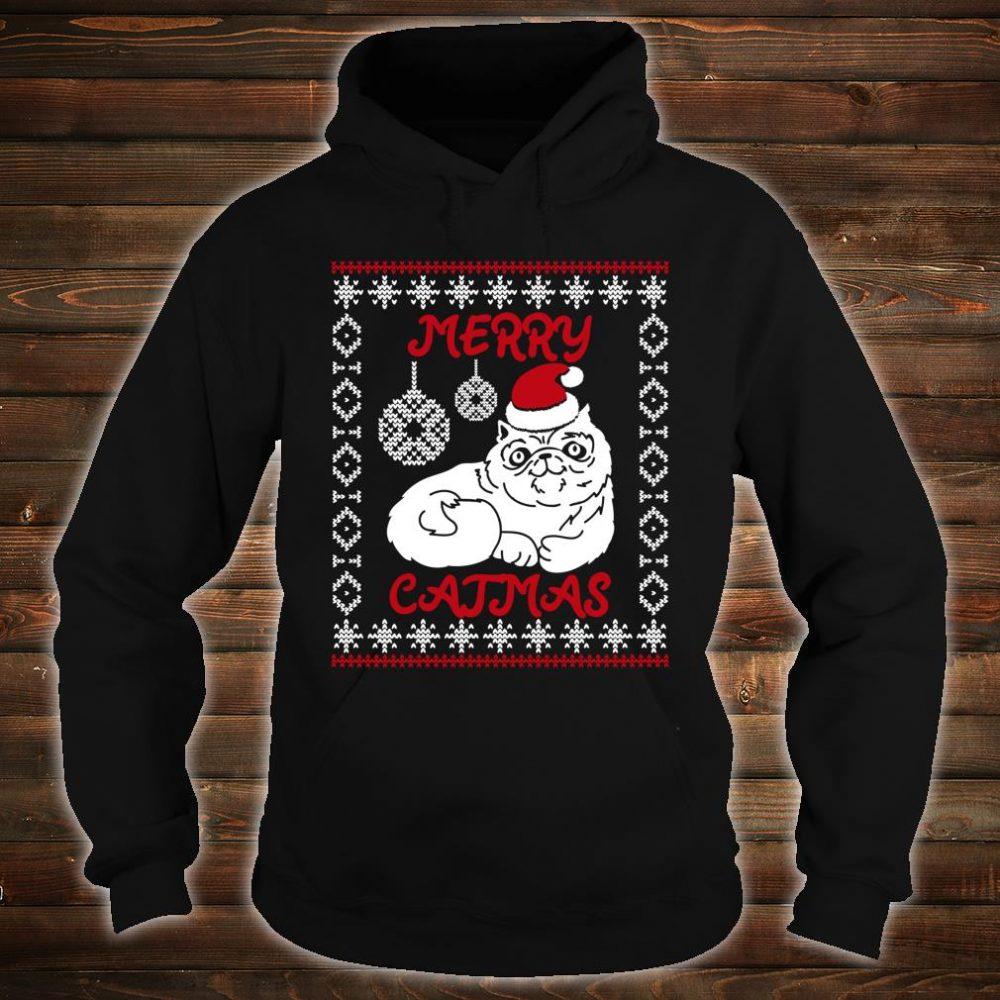 Merry Catmas Christmas Shirt hoodie