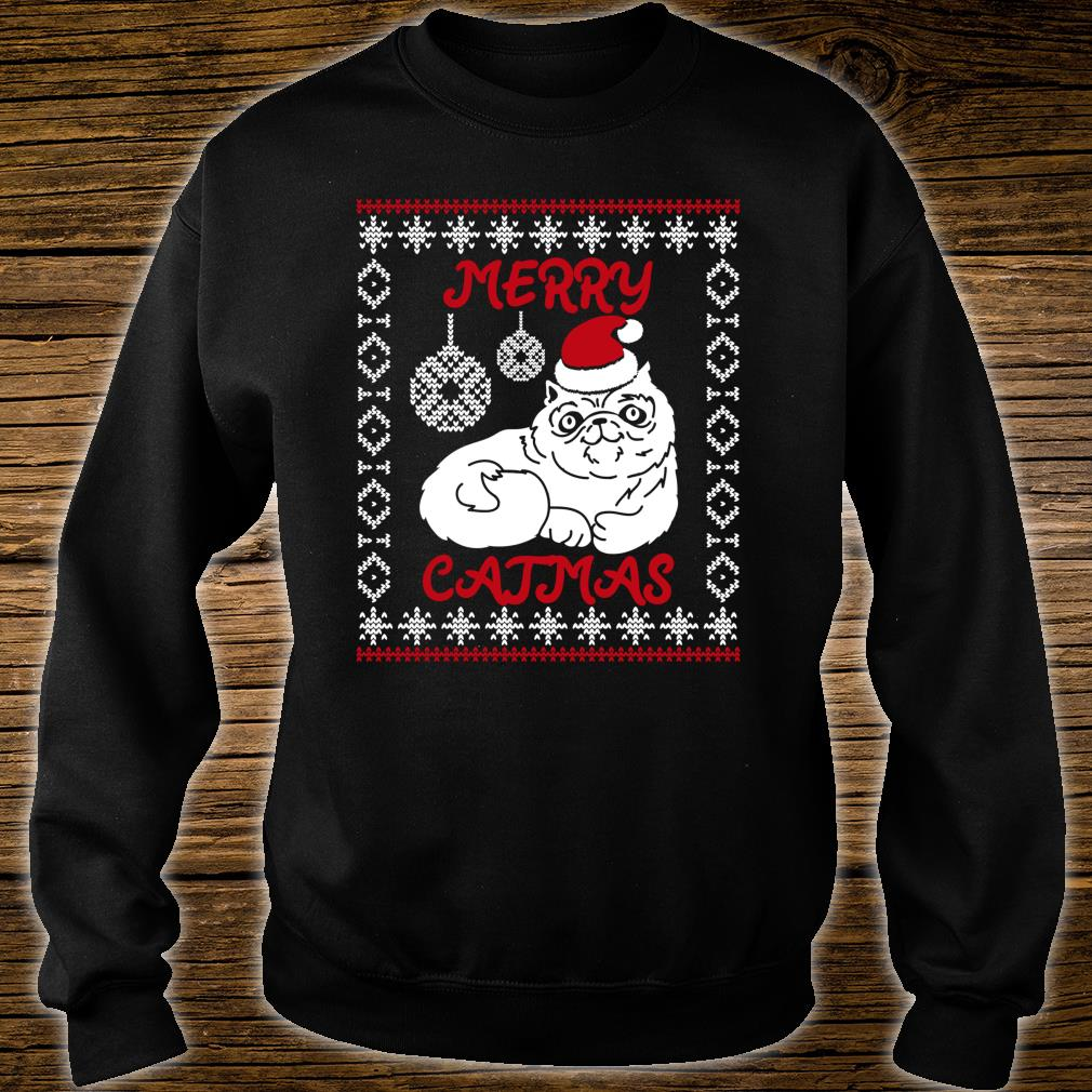 Merry Catmas Christmas Shirt sweater