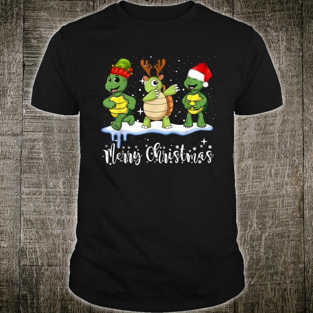 Merry Turtle Christmas Shirt