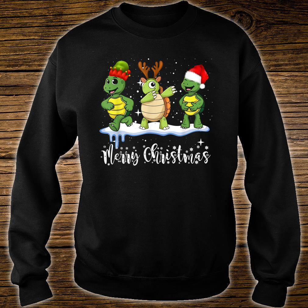Merry Turtle Christmas Shirt sweater
