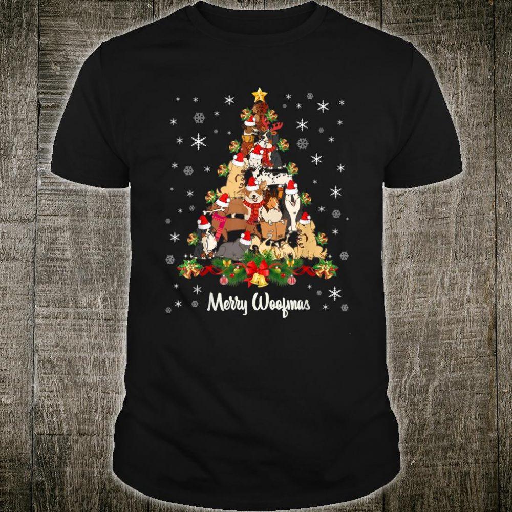 Merry Woofmas Christmas Tree Shirt