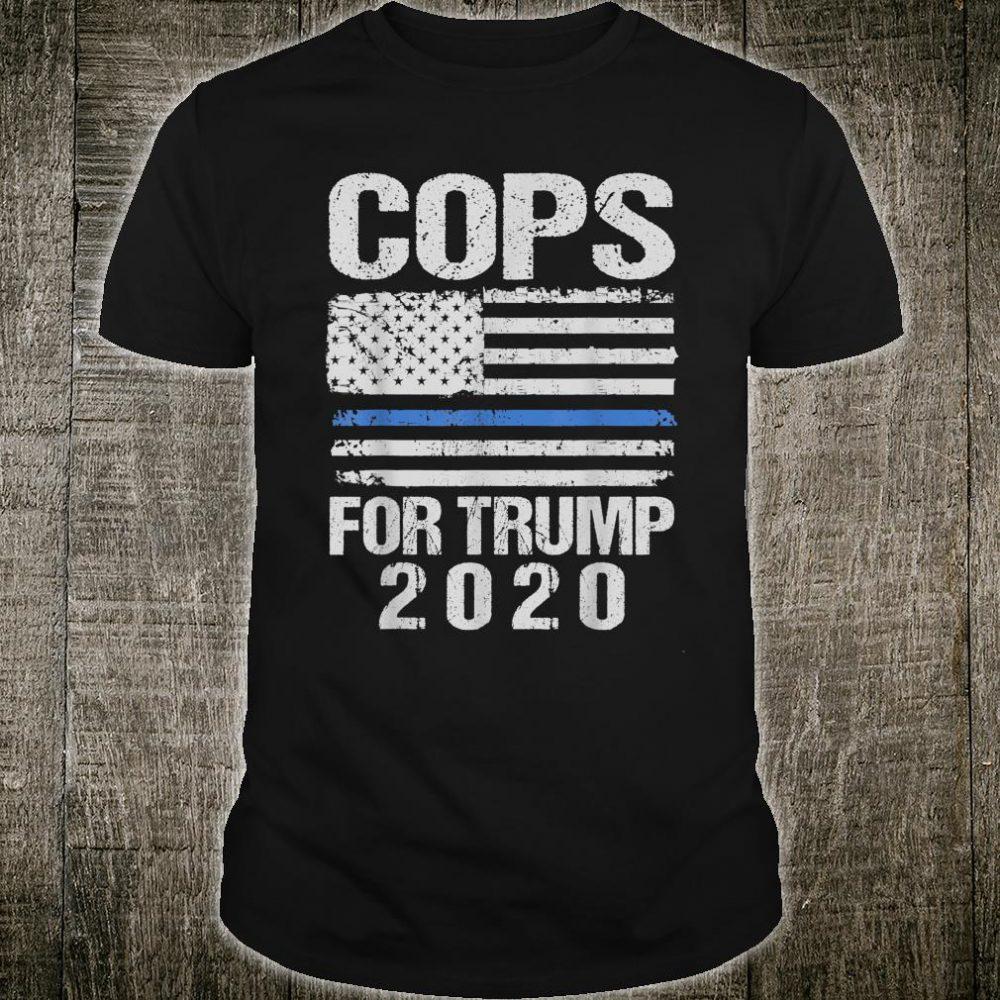 Minneapolis Cops For Trump 2020 Shirt