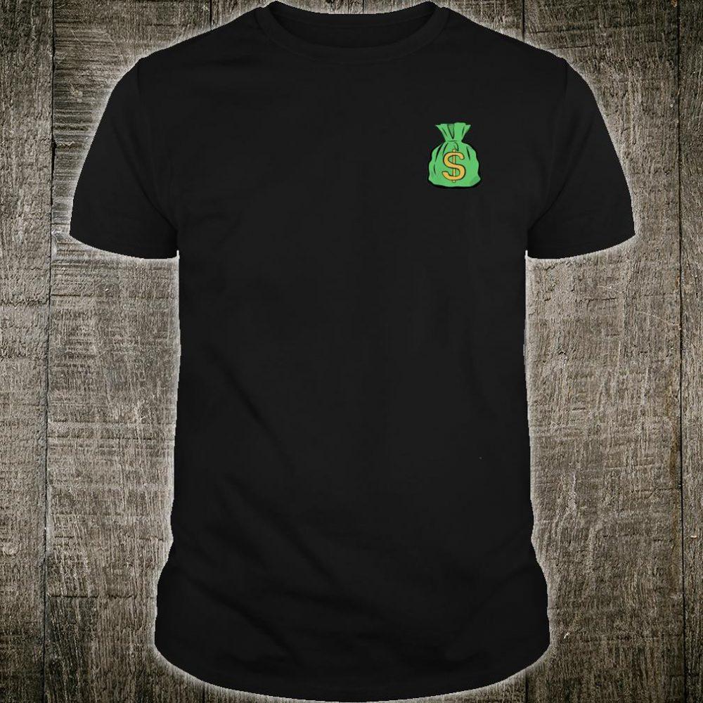 Money Bag Hand Illustrated Shirt