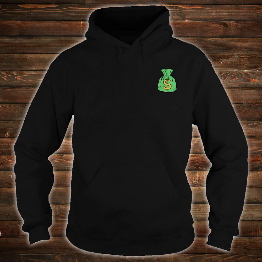 Money Bag Hand Illustrated Shirt hoodie