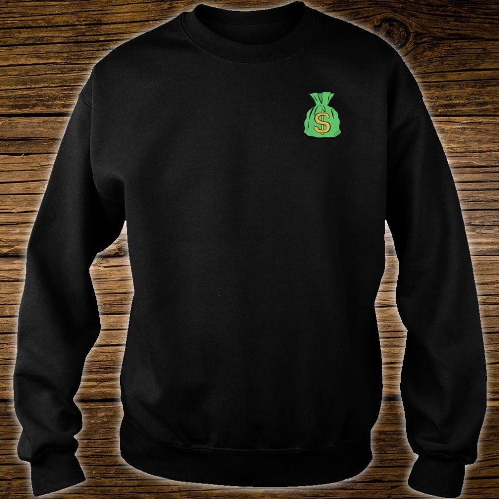 Money Bag Hand Illustrated Shirt sweater
