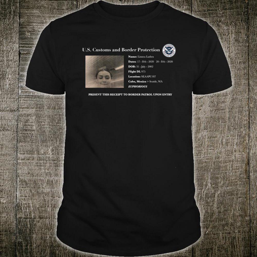 Naetar US Customs And Border Protection Shirt