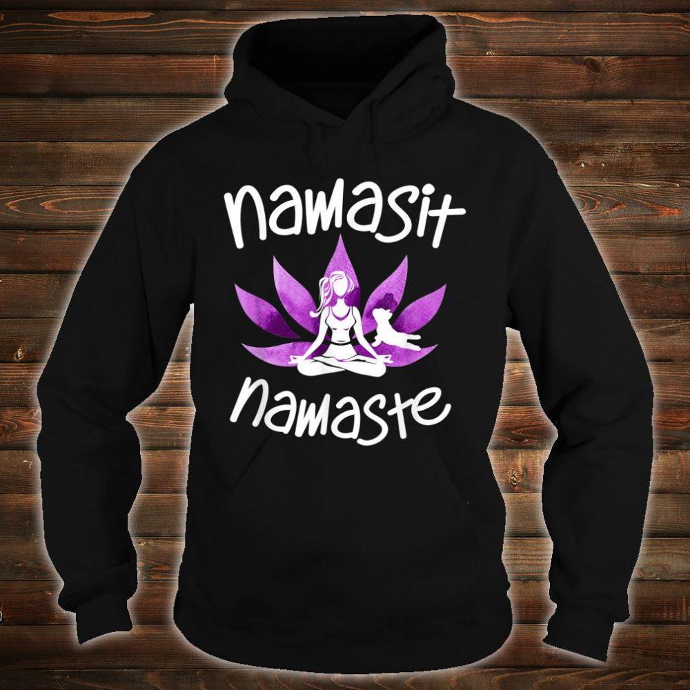 Namasit Namaste Dog Yoga lover Budha Budda zen Shirt hoodie