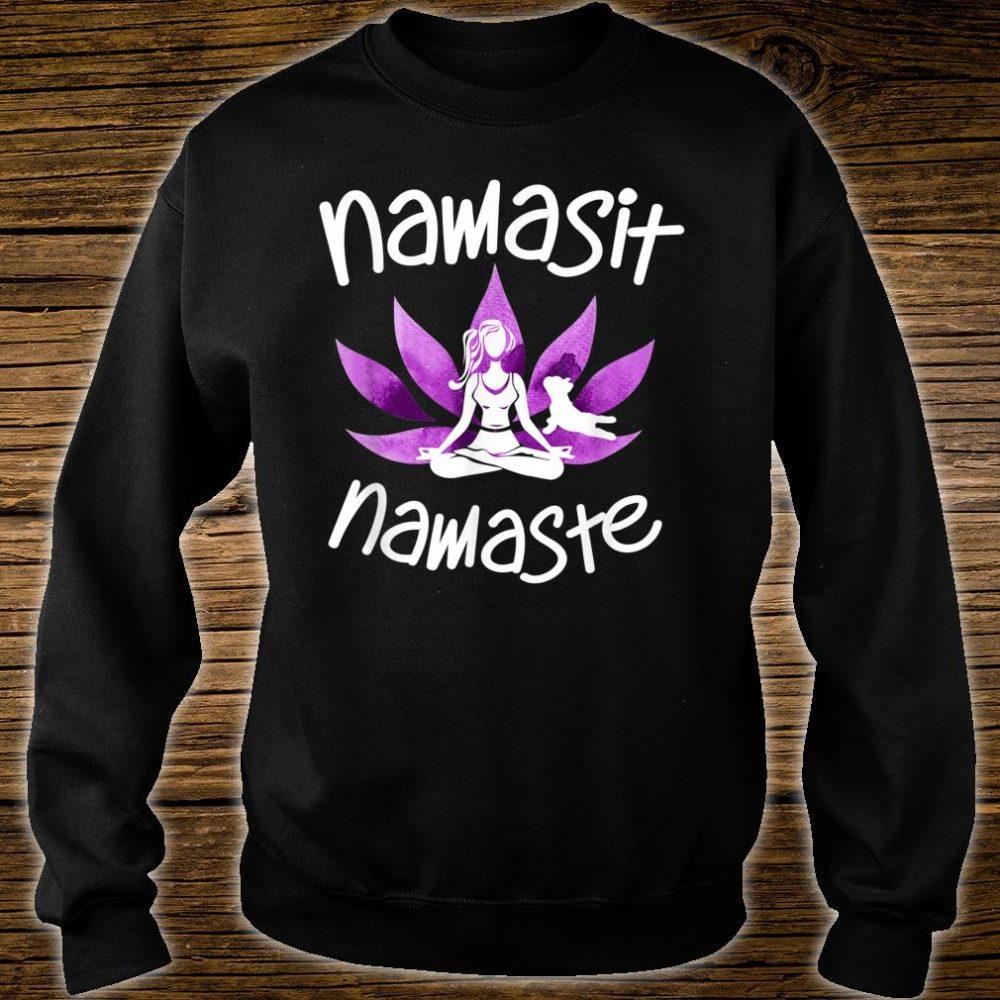 Namasit Namaste Dog Yoga lover Budha Budda zen Shirt sweater