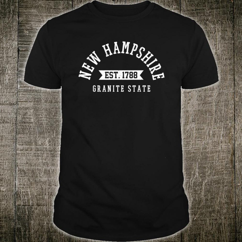 New Hampshire Est. 1788 The Granite State Shirt