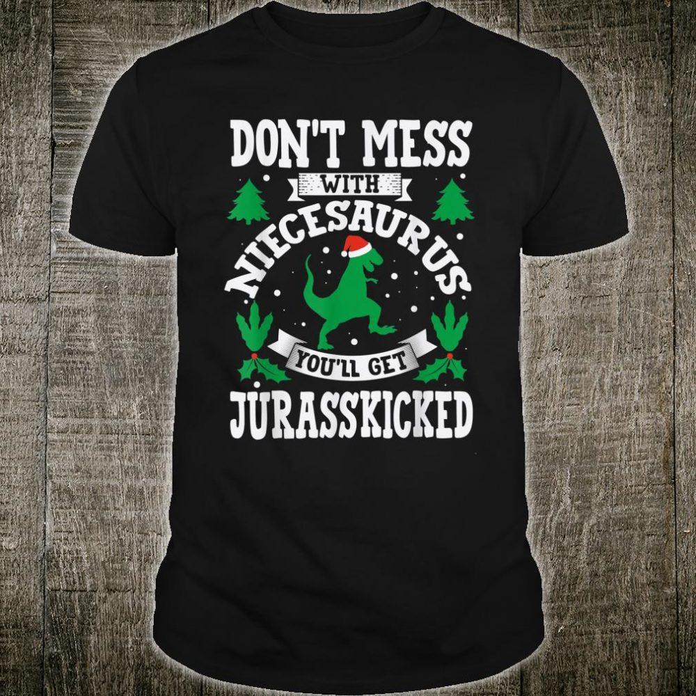 Niece Saurus Jurasskicked Dino Shirt