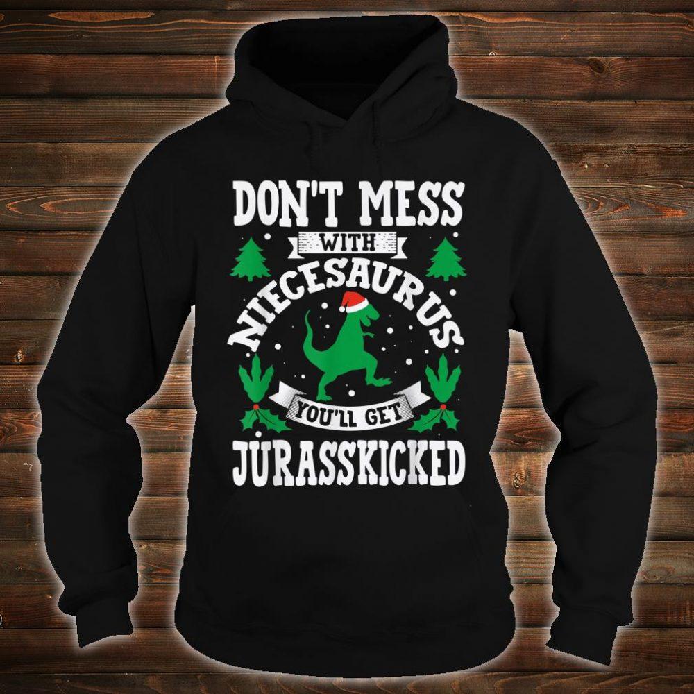 Niece Saurus Jurasskicked Dino Shirt hoodie