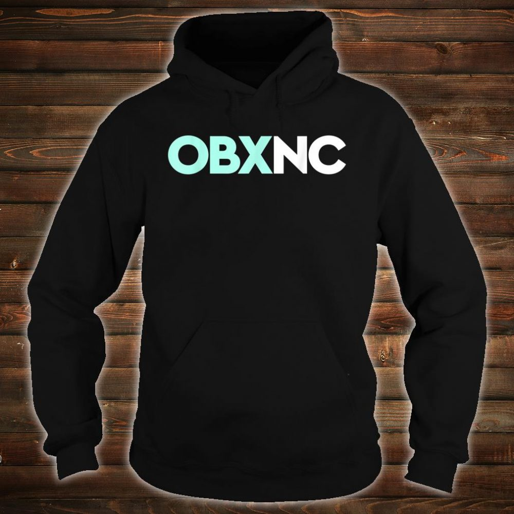 OBX NC Outer Banks North Carolina Travel Vacation Beach Shirt hoodie