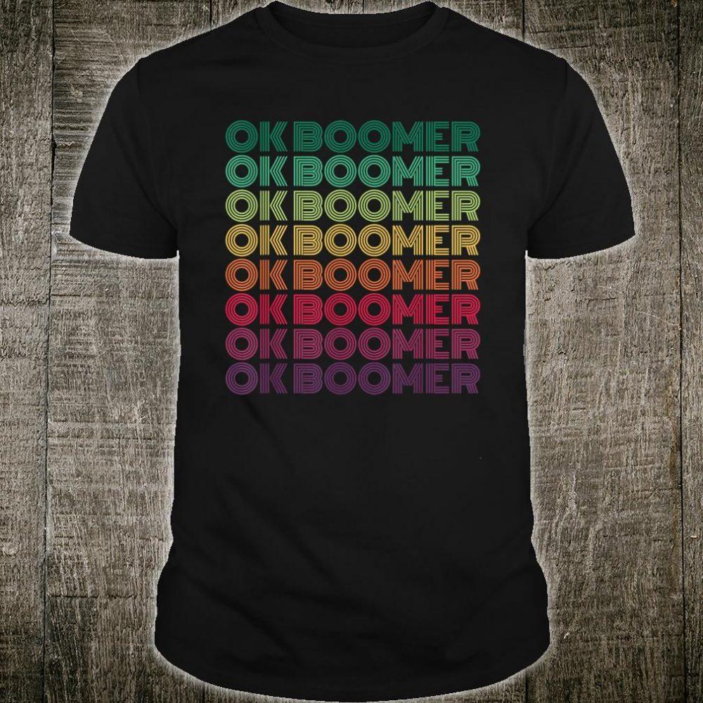 OK Boomer Generation Shirt