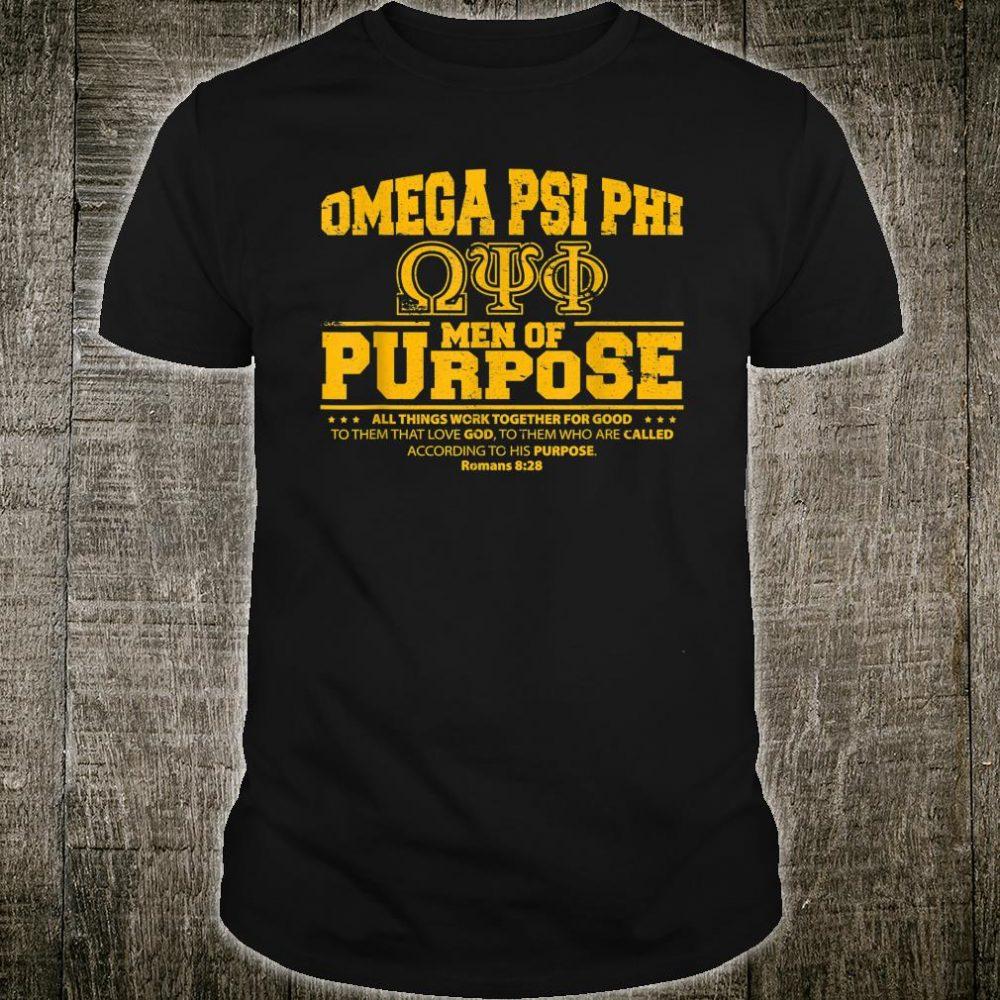 Omega Psi Phi Fraternity Que Dawg Dog Bruhz 1911 Ques Shirt