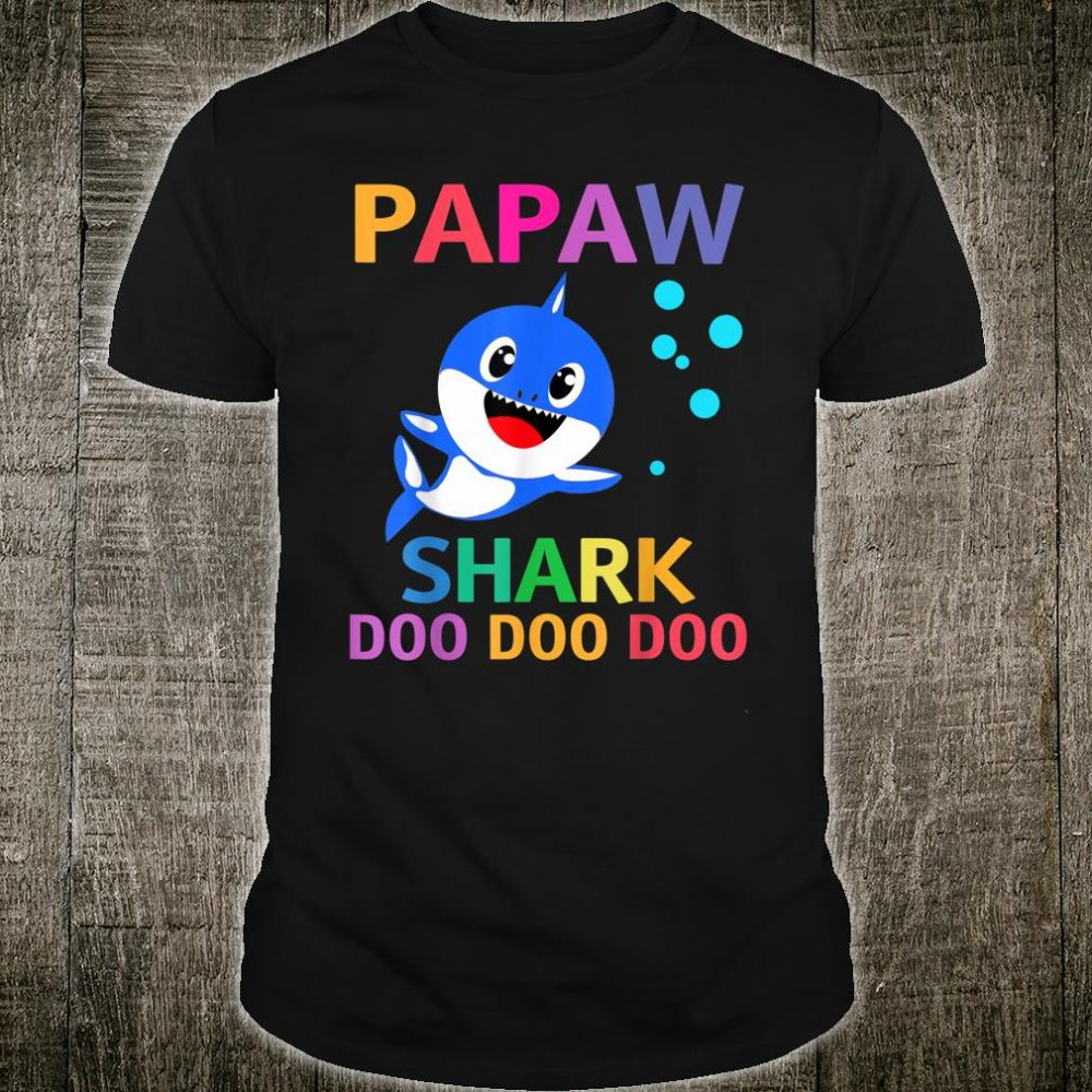 Papaw Shark Shirt