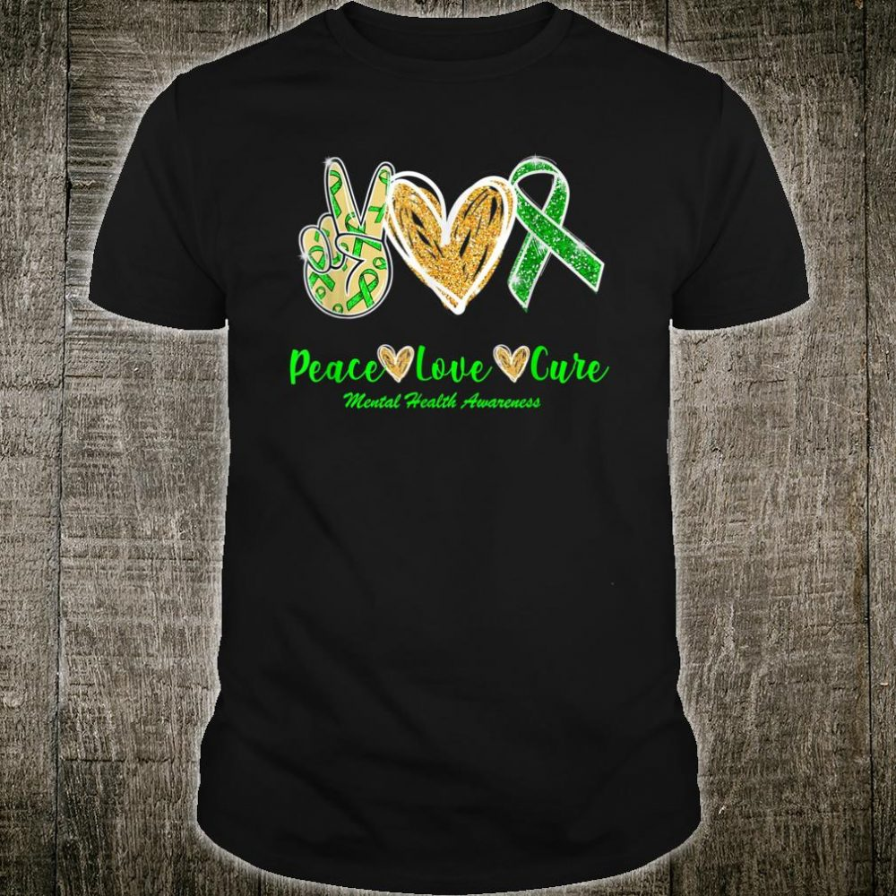 Peace Love Hope Mental Health Awareness Shirt