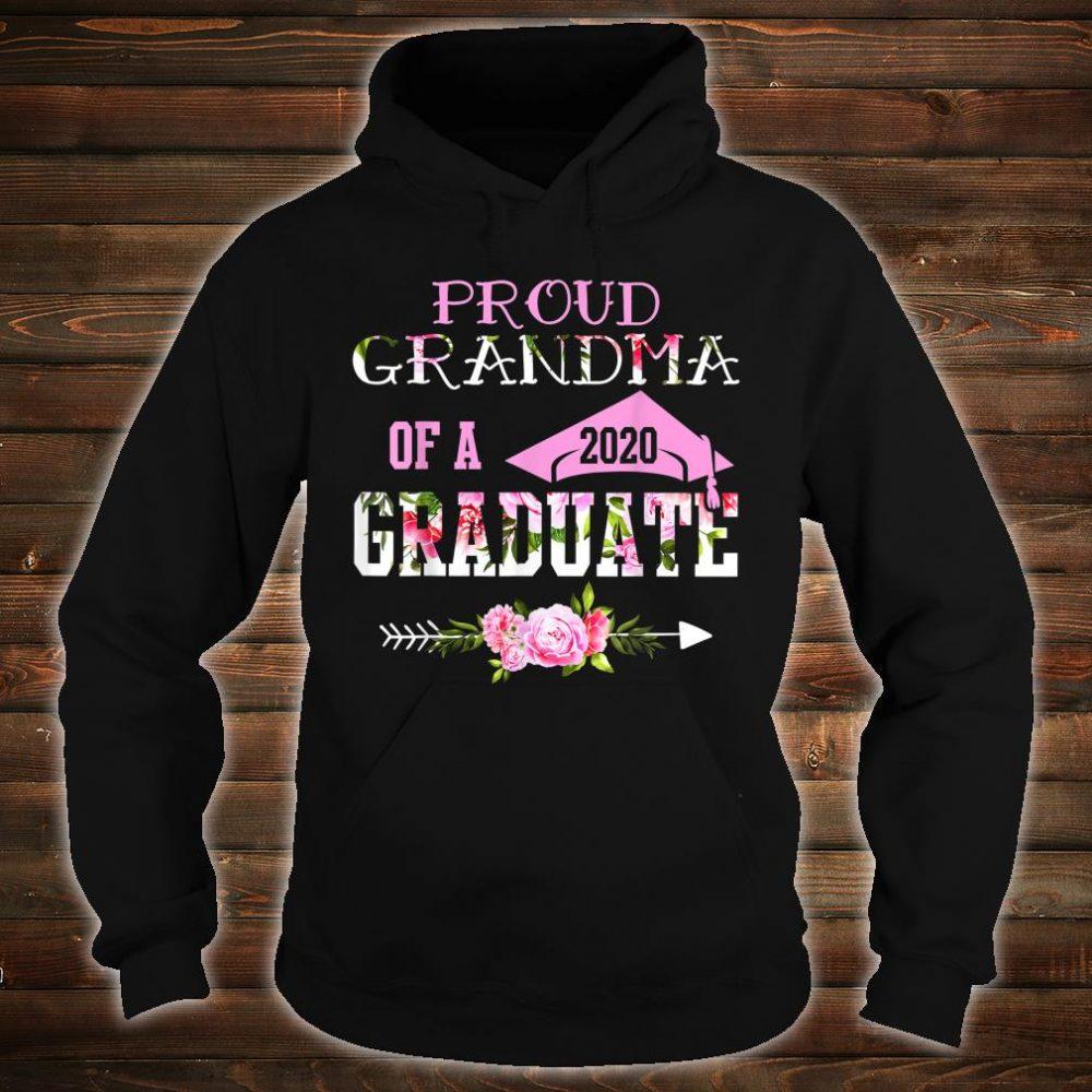 Proud Grandma Of A 2020 Graduation Shirt hoodie
