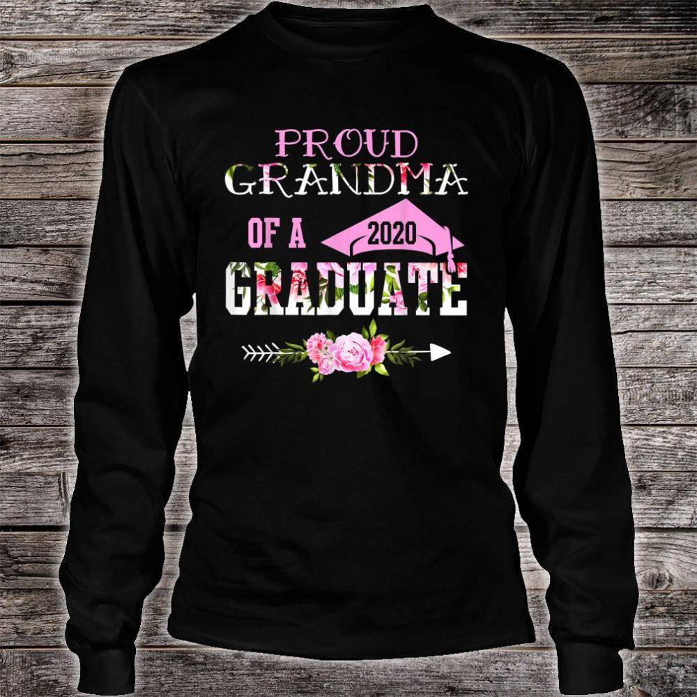 Proud Grandma Of A 2020 Graduation Shirt long sleeved