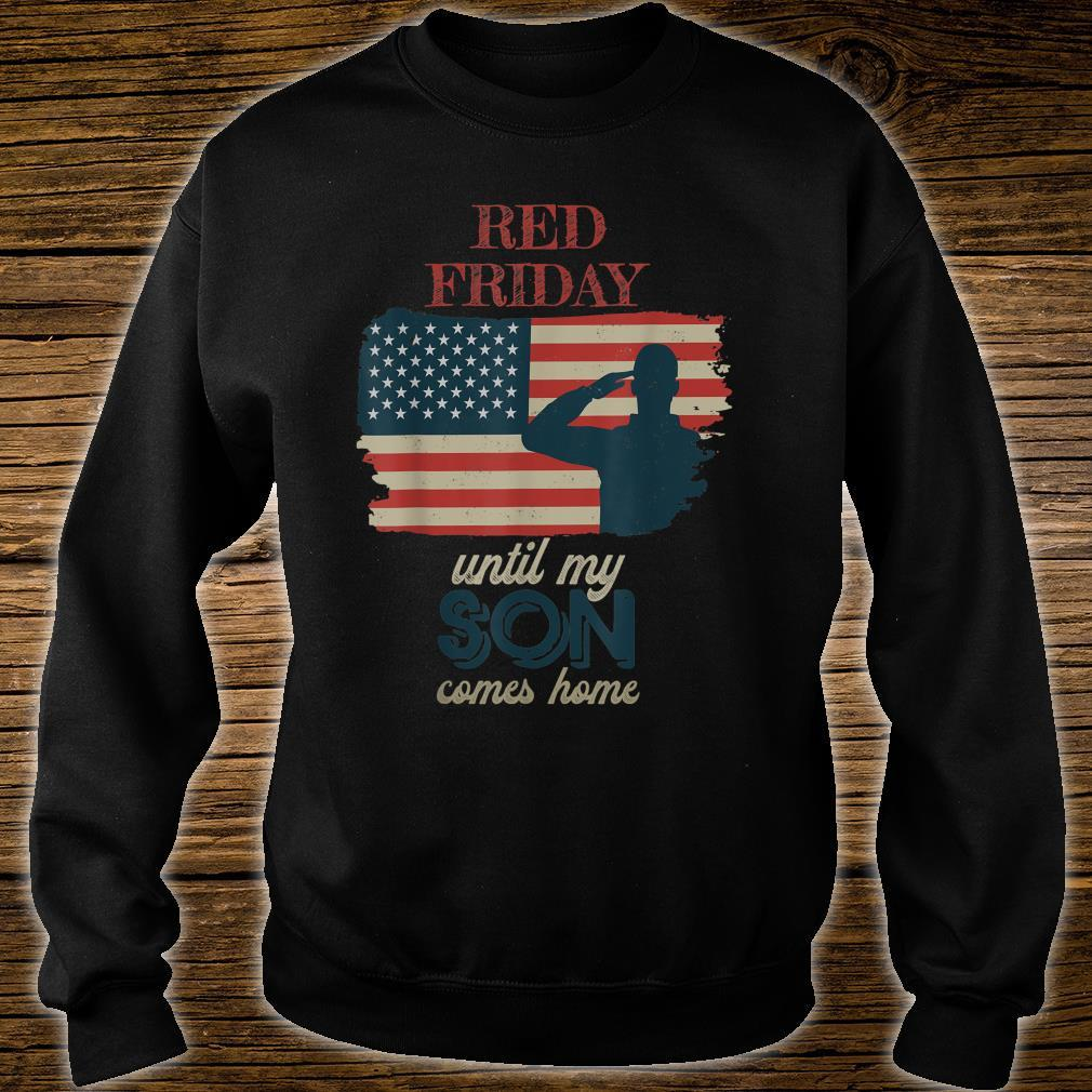 Red Friday Deploy Army Heroes Tribute Shirt sweater