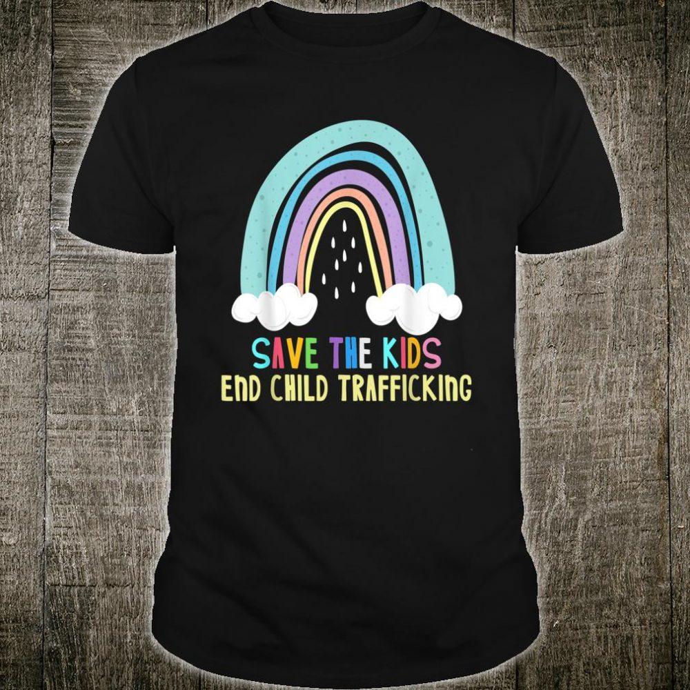 Save the Kids End Child Trafficking Shirt