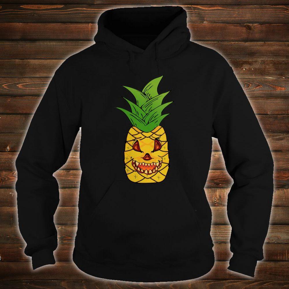 Scary Pineapple Halloween Matching Fruit Funny Costume Shirt hoodie