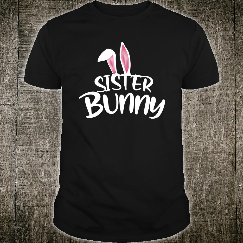 Sister Bunny Easter Family Matching Couples Her Shirt
