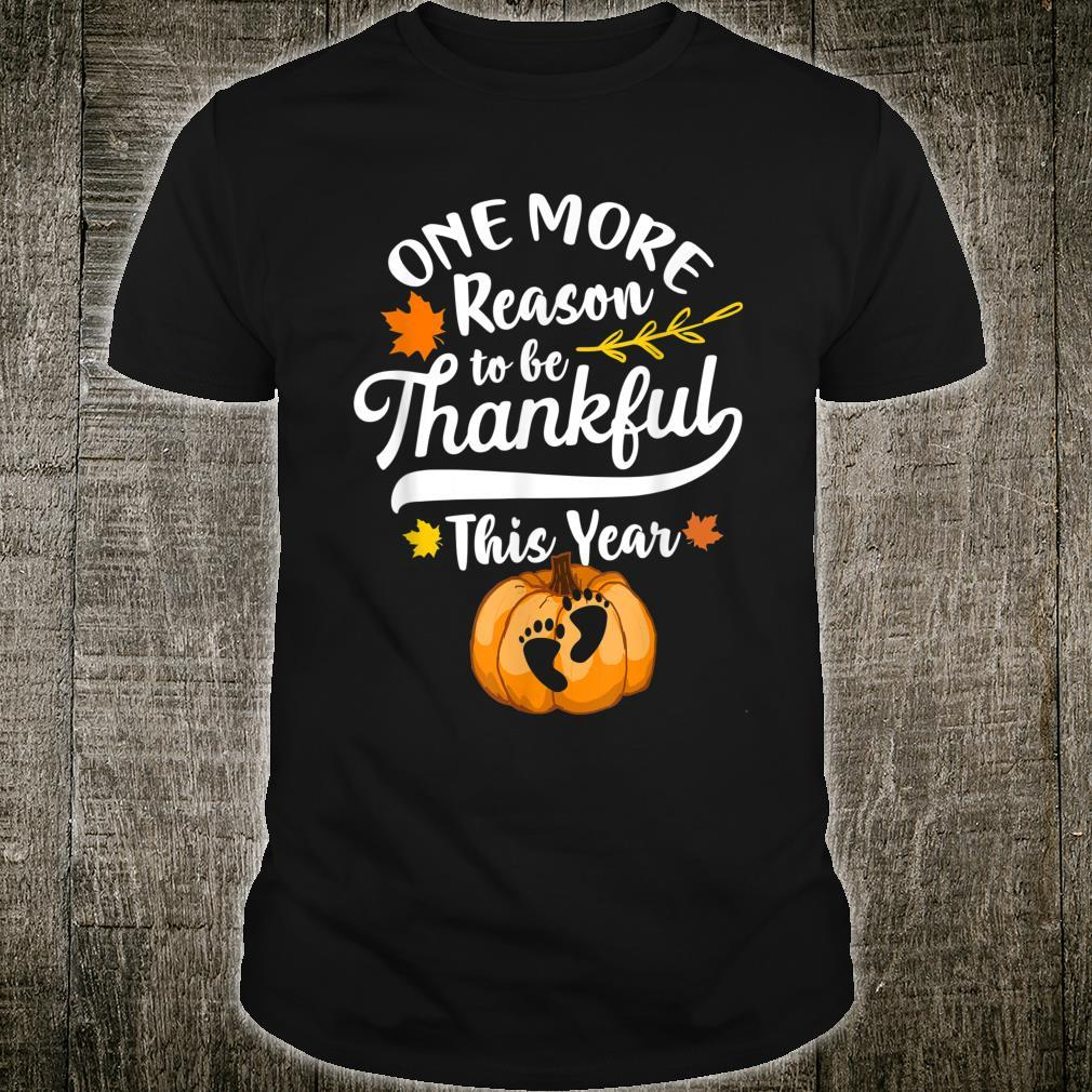 Thanksgiving Pregnancy Design for a Pregnant Falls Shirt