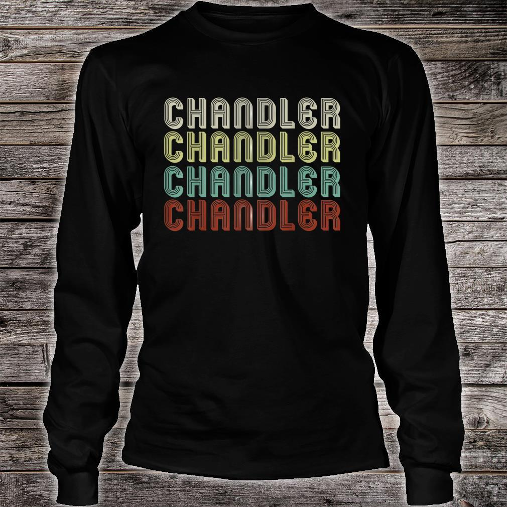 The Name Is Chandler In Shirt long sleeved