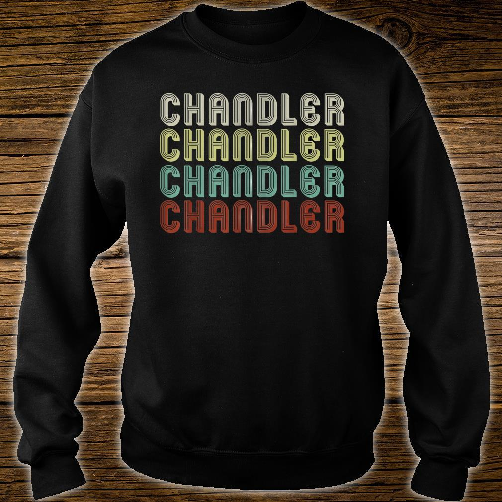 The Name Is Chandler In Shirt sweater