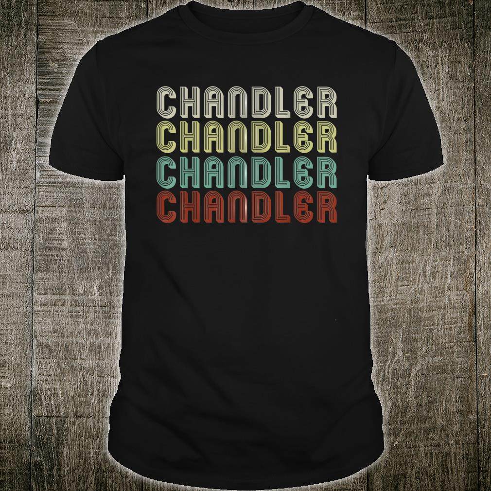 The Name Is Chandler In Shirt
