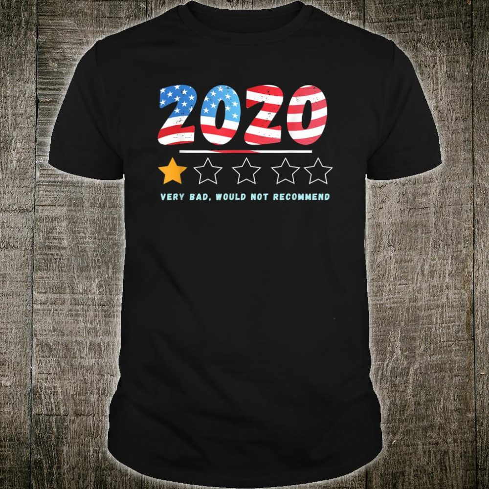 USA Flag 2020 very bad would not recommend Shirt