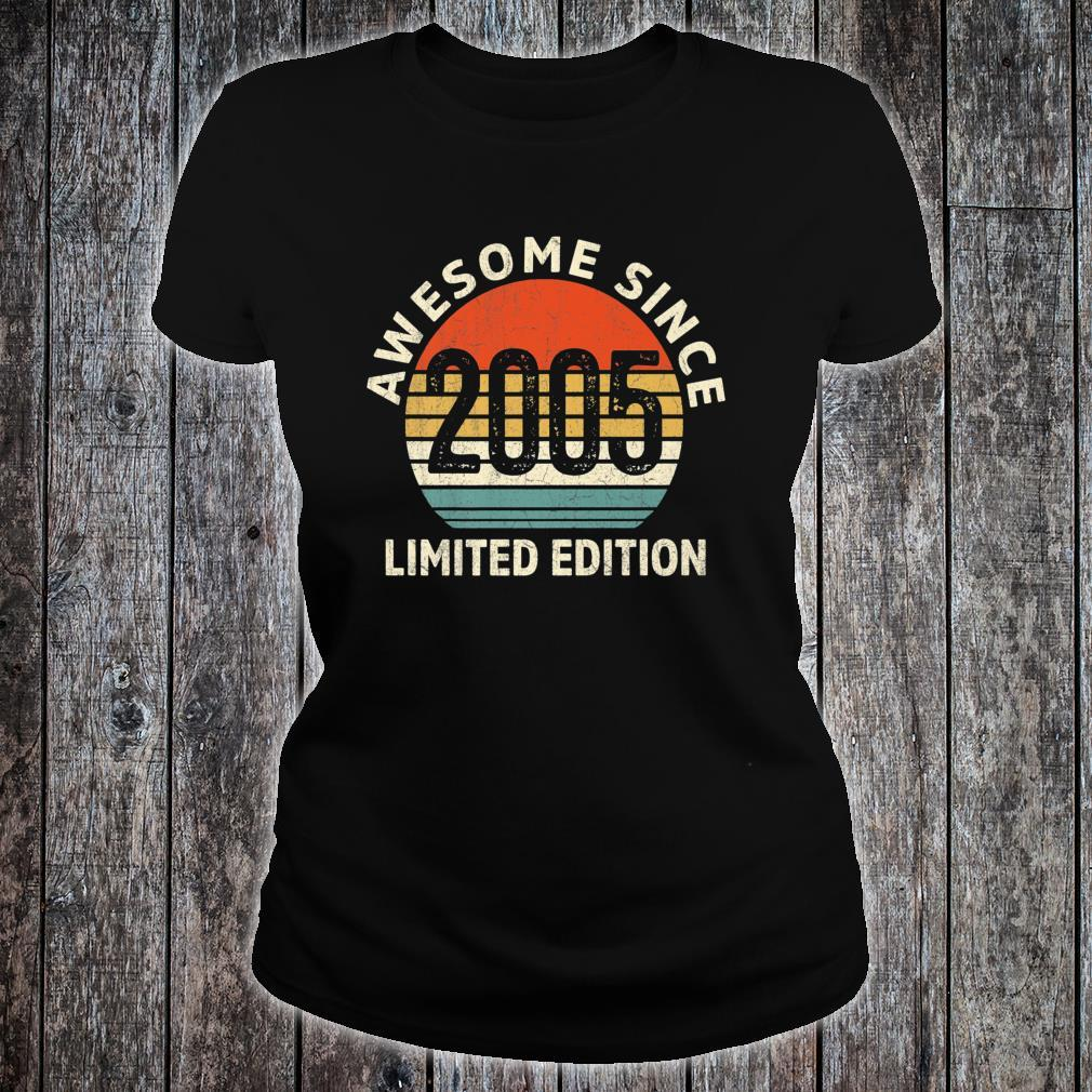 Vintage 2005 Limited Edition 16th Bday Shirt ladies tee