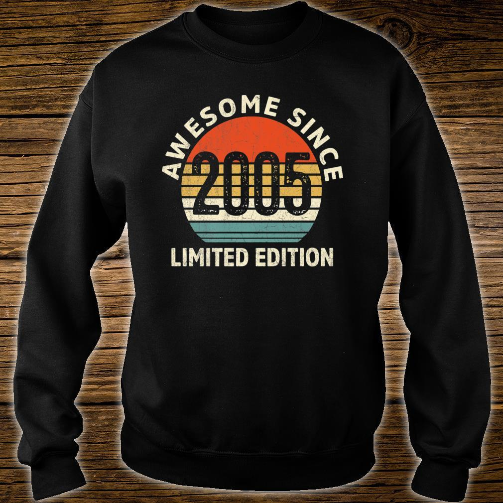 Vintage 2005 Limited Edition 16th Bday Shirt sweater